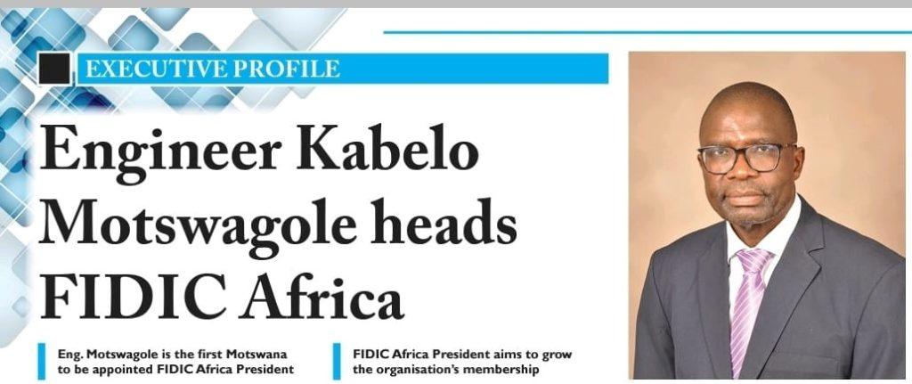 Eng. Kabelo heads FIDIC Africa